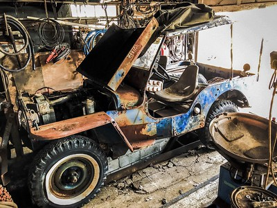 Willys Jeep Restoration Blog