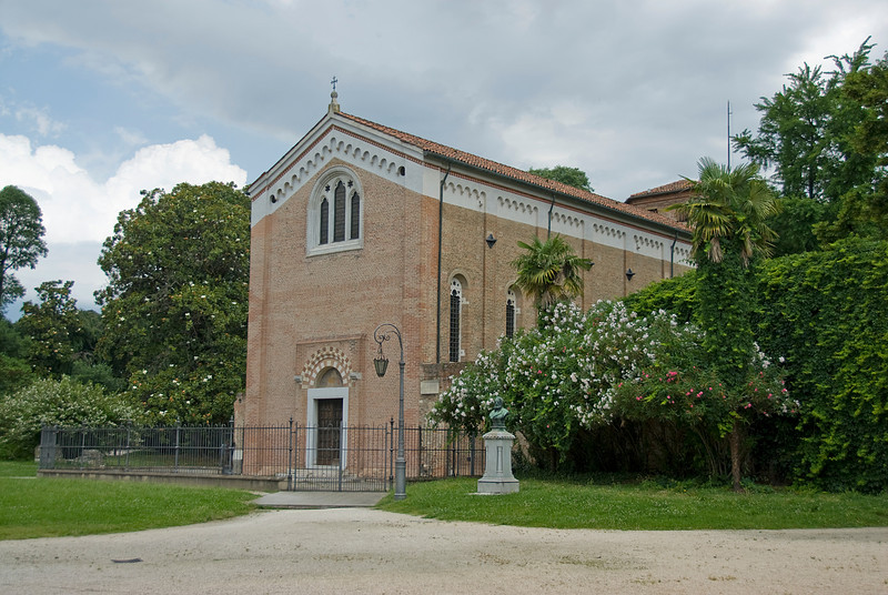 Back door at Basilica of Saint Anthony of Padua - Italy