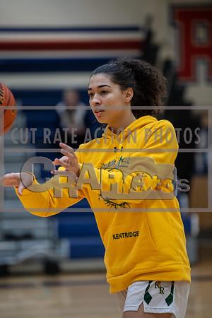 Kentridge girls varsity at Decatur (4A District Quarterfinal)