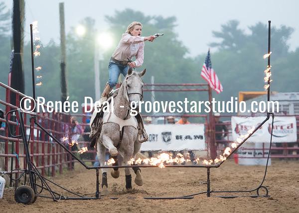 Trick Riding - Gena Cox