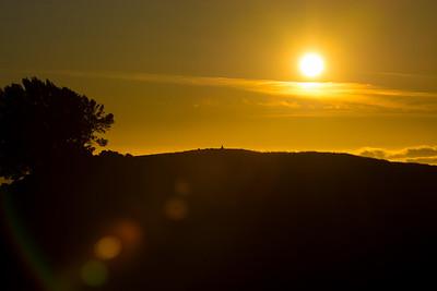 Sunset at Mount Tamalpais