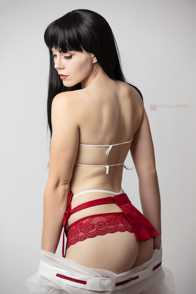 Inuyasha Kikyo by Genevieve Marie