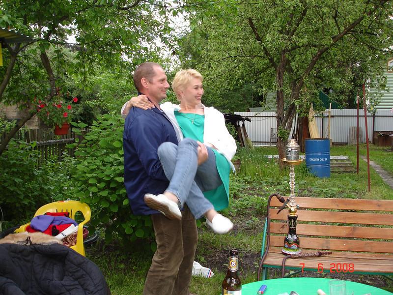 2008-06-07 ДР Князевых на даче с Тительман 05.JPG
