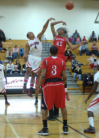 01/12/2010 Butler Boys Basketball - Butler VS South Meck