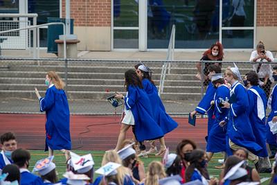 Brien McMahon 2021 High School Graduation