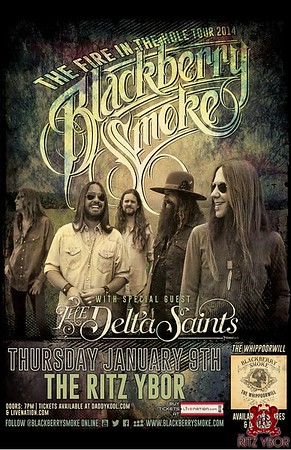 Blackberry Smoke January 9, 2014