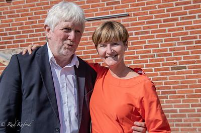 Folketingskandidat Per Frost fejrer 60 med folk og fæ