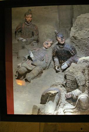 The Terra Cotta Warriors of Xian, China
