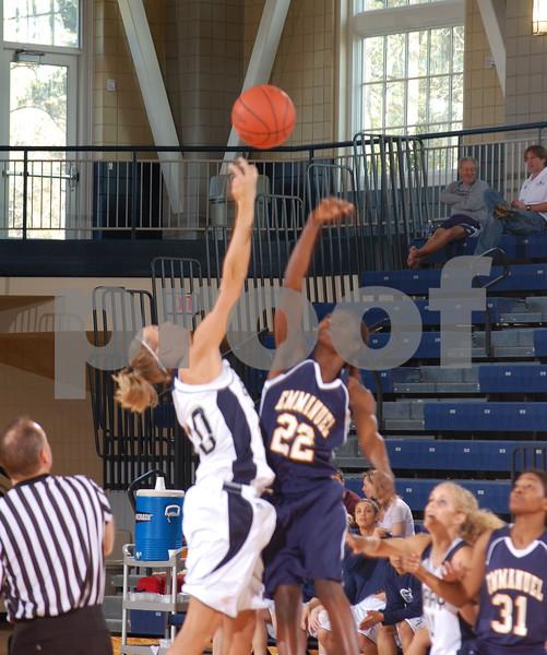 Women's Basketball v. Emmanuel Jan. 24, 2009