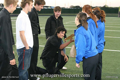 Pflugerville Panthers vs.Bowie Bulldogs, October 30, 2008