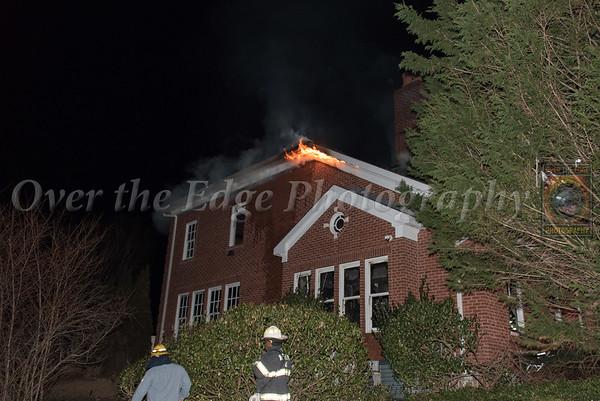 Westbury Mansion Fire 01/25/2018