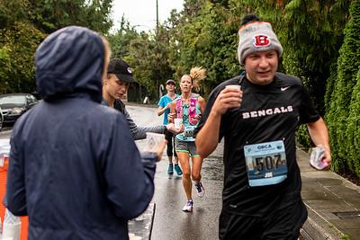 Alki Beach Half Marathon