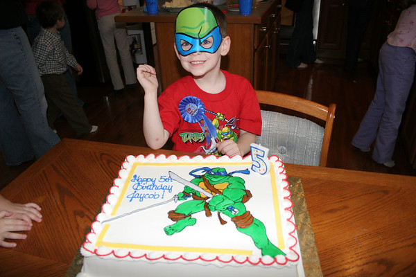 Jaycob's 5th Birthday Party - January 22, 2006