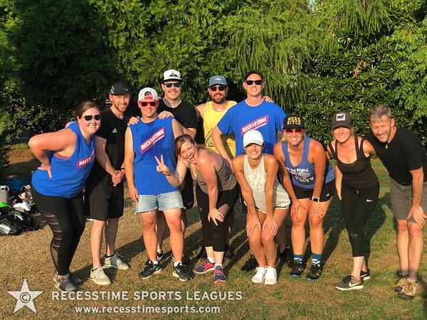 Monday Nights Summer 2018 Recesstime Portland Kickball