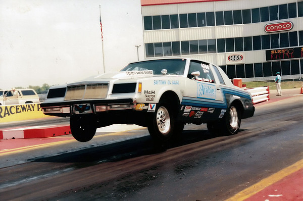 BRACKET RACING AT HOUSTON RACEWAY PARK 1995