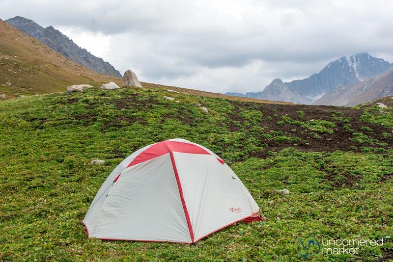 Camping Along the Jyrgalan Trek, Kyrgyzstan
