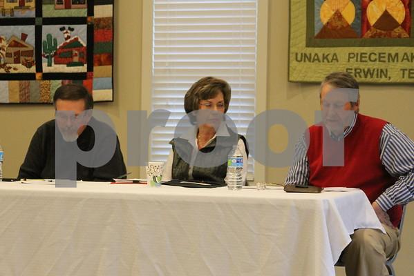 Panel Meeting of Three Mayors - January 2015