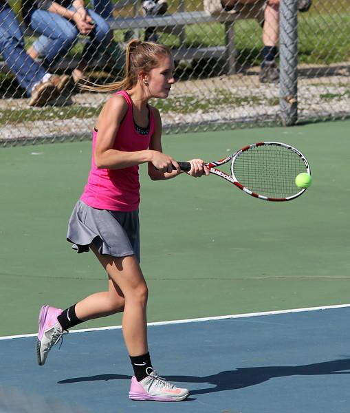 Sectional Tennis: Goshen vs. NorthWood