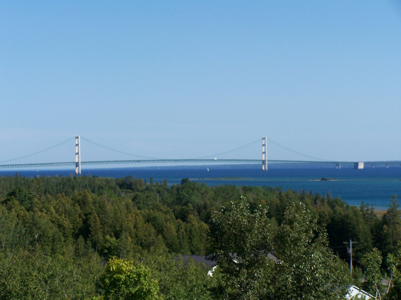 Distant view of Mighty Mac