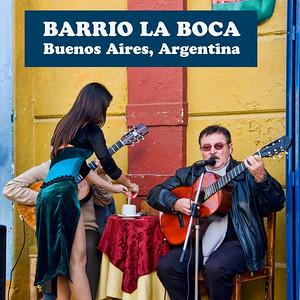 BARRIO LA BOCA, BUENOS AIRES, ARGENTINA