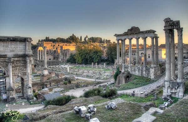 Forum Romanum. Rome, Italy