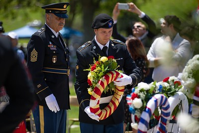 Photos: Memorial Day observations around the Bay Area