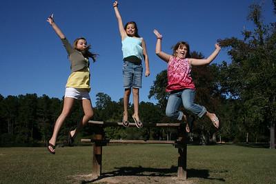 Brooke, Hannah and Olivia