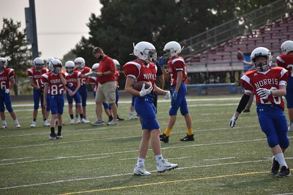 7th Grade Football VS Seward
