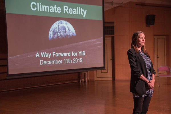 Climate Reality - The Way Forward for YIS
