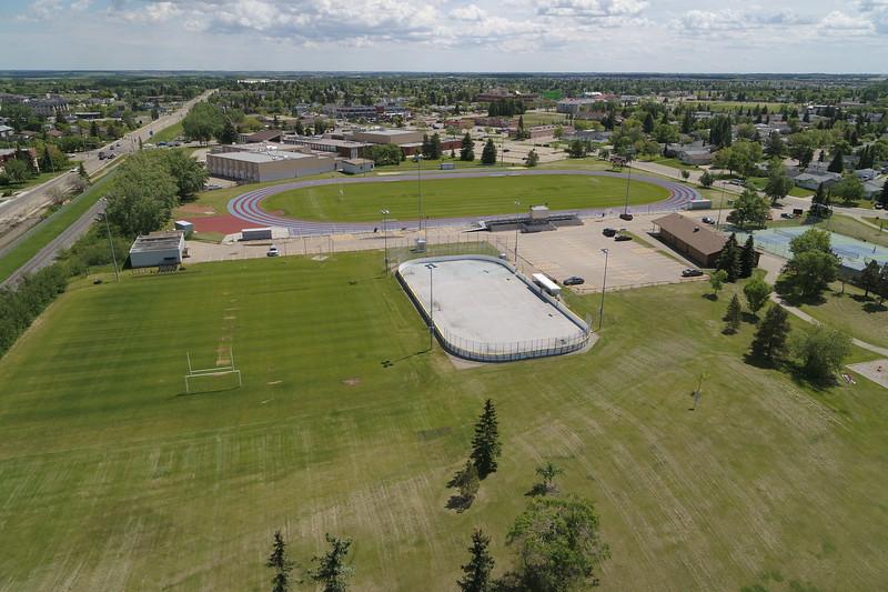 John Bole Athletic Park - Aerial Photo