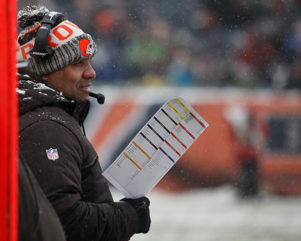 . Jenna Miller - The News-Herald Photos from the Cleveland Browns\' game against the Bears on Dec. 24 in Chicago.
