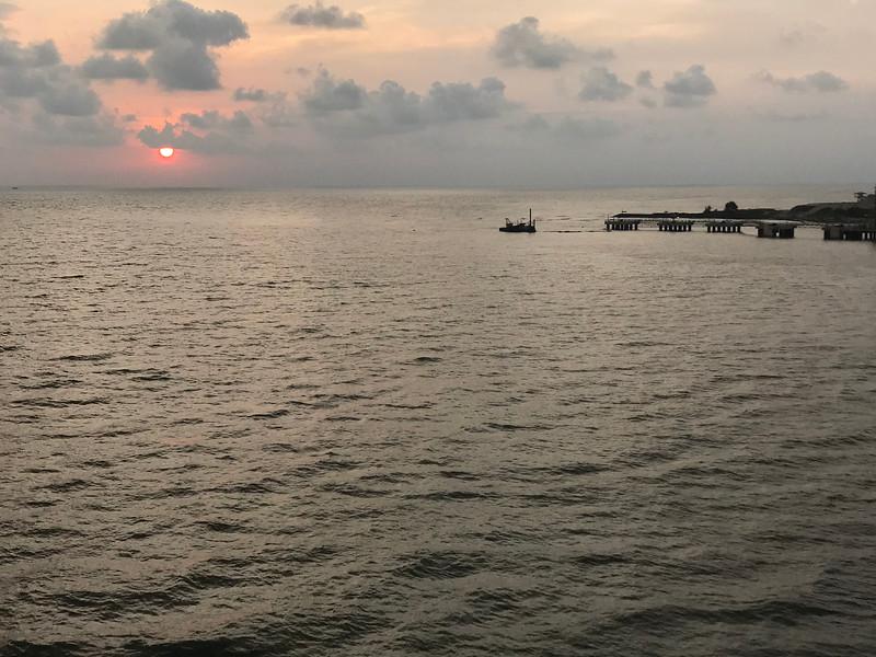 Leaving Cochin, India (Kochi)