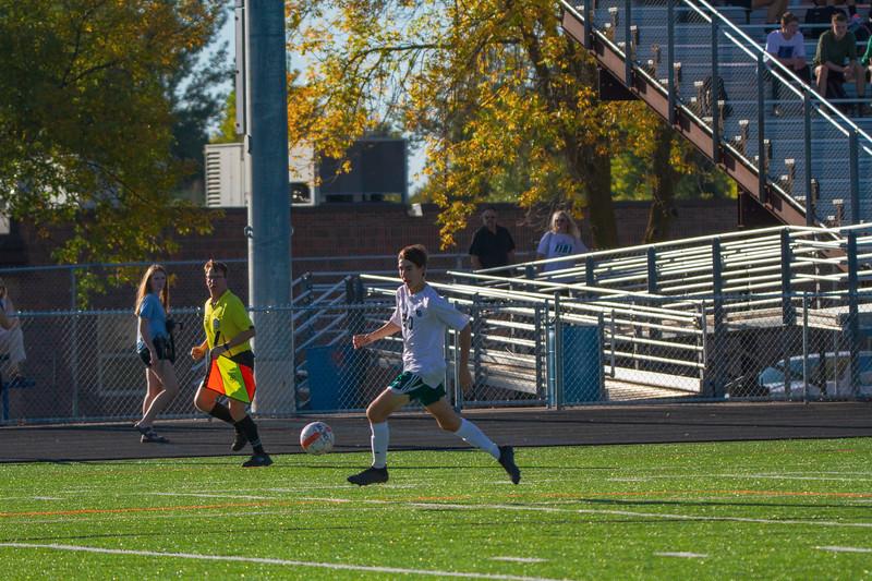 Holy Family Varsity Soccer vs. Delano, 9/19/19: David Torborg '20 (20)