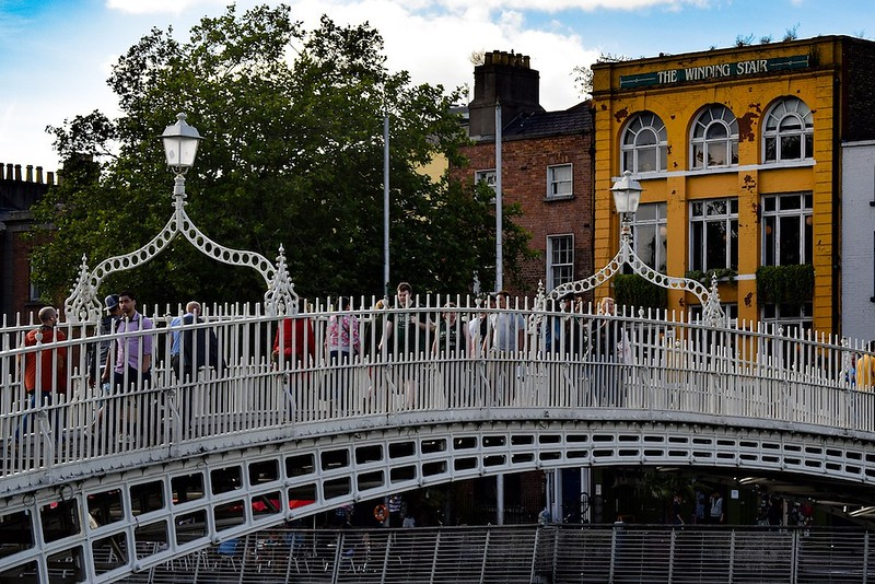 things to do in Dublin - HaPenny Bridge