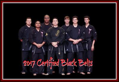 2017 Black Belt Candidates