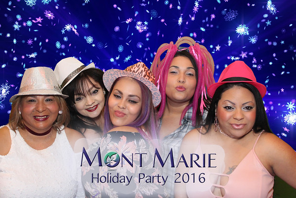 Mont Marie Holiday Party 2016