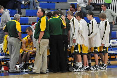 Boys Varsity Basketball at Perry 2010