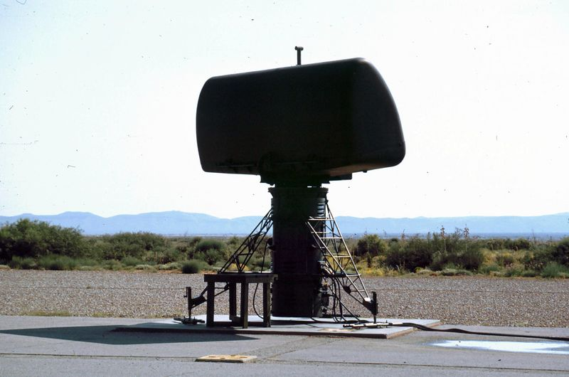 McGregor Range - Lo-Power Acquisition Radar - SNAP - Sep 1966