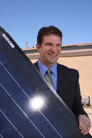 03/11/09 Hal and His Solar Panel