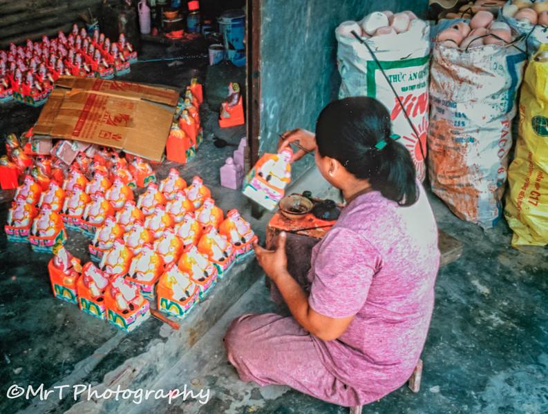 Hand-painted pottery buddhas Bình Dương Việt Nam