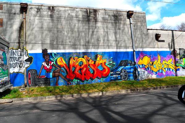 Streetart and Graffiti