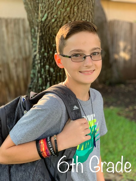 Jayden | 6th grade | Running Brushy Middle School