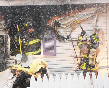 Lakeville Trailer Fire