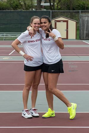 ISU Tennis vs TCU 04/24/16