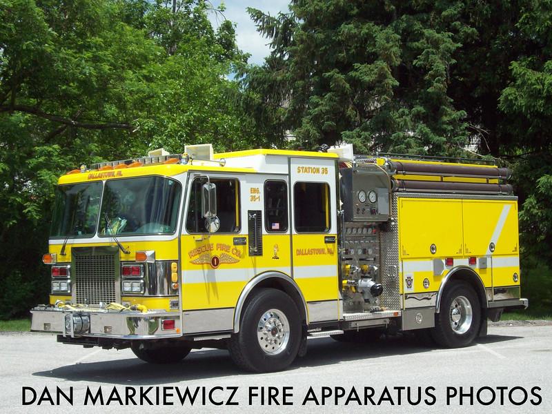 RESCUE FIRE CO. DALLASTOWN ENGINE 35-1 1994 SPARTAN/SAULSBURY PUMPER
