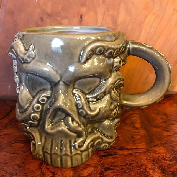 My #electionday #coffeemug TBD whether I turn it into a #tiki mug filled with rum in about 10-12 hours