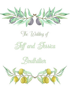 The Wedding of Jeff and Jessica Bouthillier