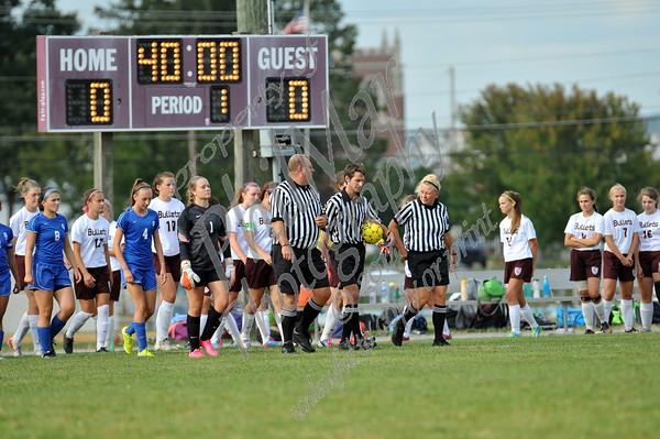 Oley Valley vs Brandywine Girls High School Soccer 2015 - 2016