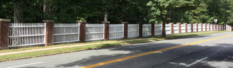 185 - Lenoir Preserve - Yonkers NY - Custom Picket Fence
