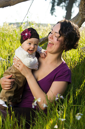 Ben + Juniper = Laila > Aurora (Family Photography, Lighthouse Field, Santa Cruz, California)